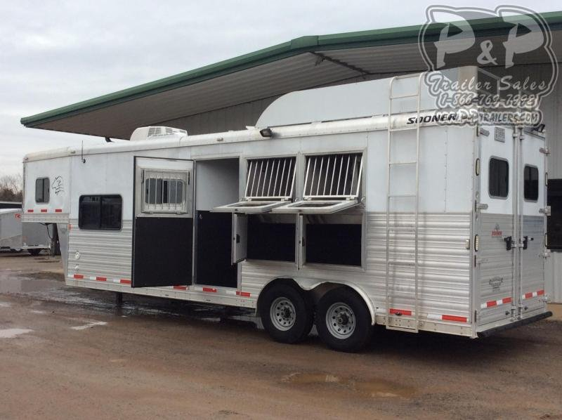 2015 Sooner 8310 3 Horse Slant Load Trailer 10 FT LQ