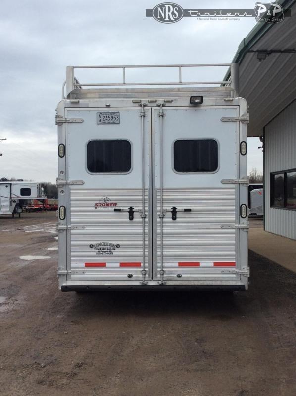 2015 Sooner 8310 3 Horse Slant Load Trailer 10 FT LQ