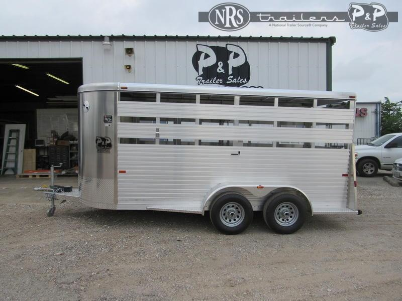 2021 W-W Trailer All Around 6' x 16 ' Livestock Trailer