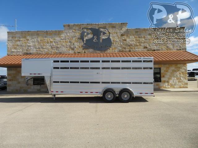 2021 CM CMS2040-2070 Roundup AL 20 ' Livestock Trailer