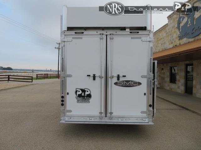 2020 SMC Horse Trailers SL8418SBBSRBRSL 4 Horse Slant Load Trailer 18 FT LQ w/ Slideouts