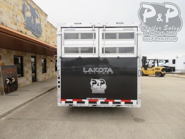 2021 Lakota Charger LE81415SRB 35 ' Livestock Trailer LQ