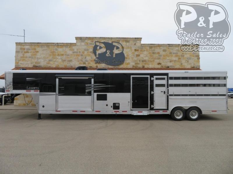 2021 Lakota Charger LE81415SRB Livestock Trailer LQ