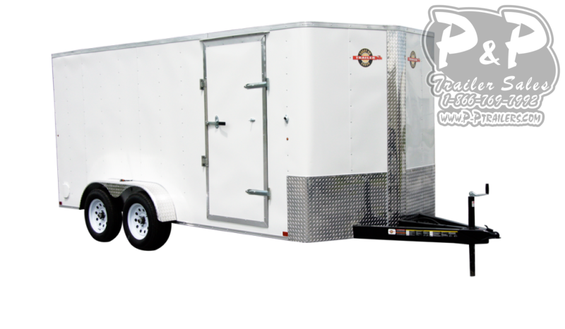 """2021 Carry-On Cargo Trailers 6X12CGRBN7K 144 """" Enclosed Cargo Trailer"""