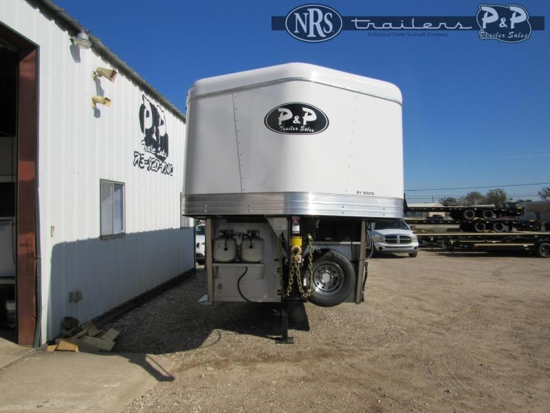 2021 Bison Trailers Scout ST7208 2 Horse Slant Load Trailer 8 FT LQ