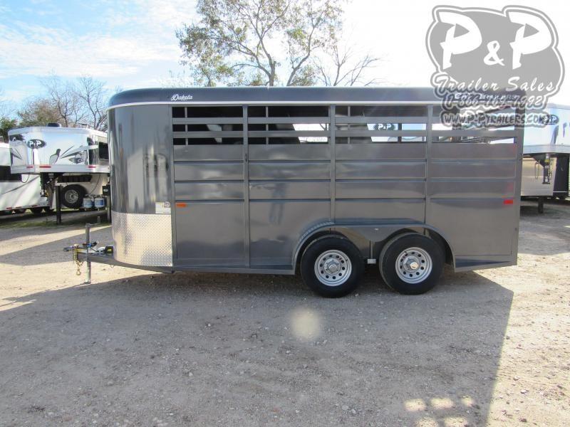 2021 CM CMH0833-1600235 3 Horse Slant Load Trailer