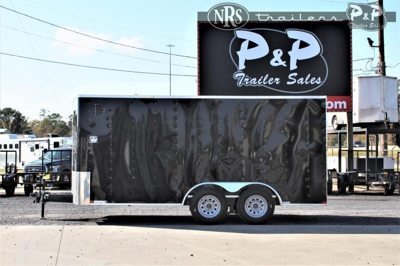 2021 Carry-On 7X16' CGRBN 16 ' Enclosed Cargo Trailer