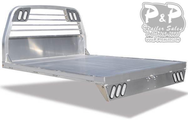 CM AL RS All Aluminum Flat Deck Truck Bed