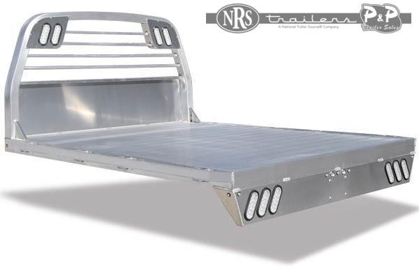 CM AL RS All Aluminum Flat Deck Truck Bed