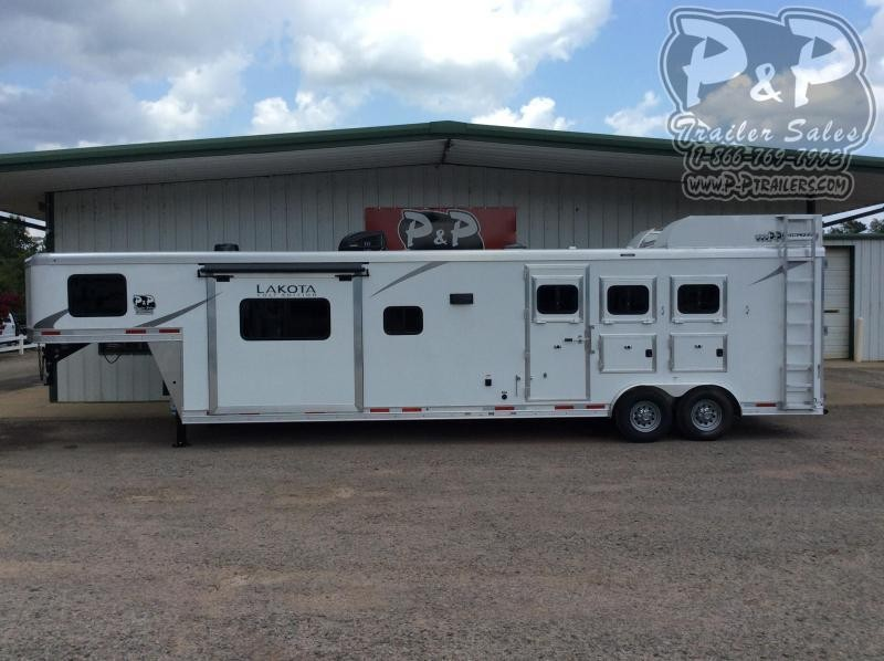 2021 Lakota Colt AC8315 3 Horse Slant Load Trailer 15 FT LQ With Slides