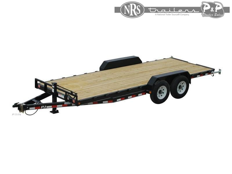 2021 PJ Trailers 6 in. Channel Equipment (CC) 10 ' Car / Racing Trailer