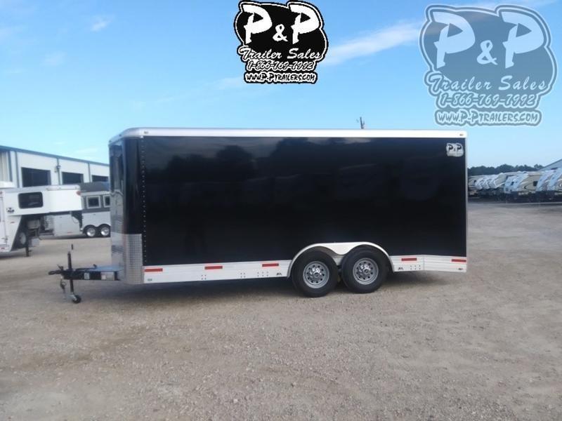 2021 P and P Enclosed Car Haulers 20' Car Hauler 20 ' Enclosed Cargo Trailer