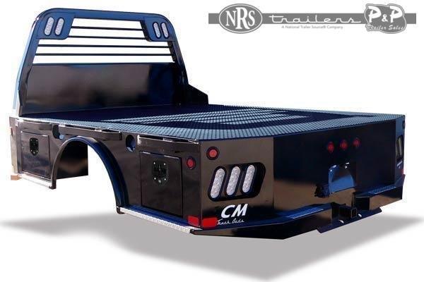 CM SK Steel Utility Body 86x97x57 8 ' Truck Bed