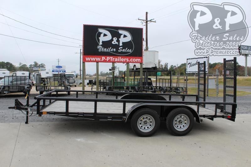 2020 P and P PPTA16X83LDFURPT 16 ft Utility Trailer