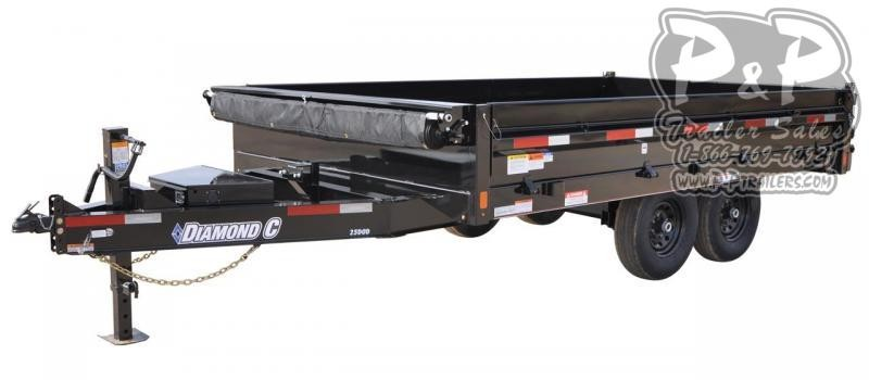 2020 Diamond C Trailers DOD Dump Trailer