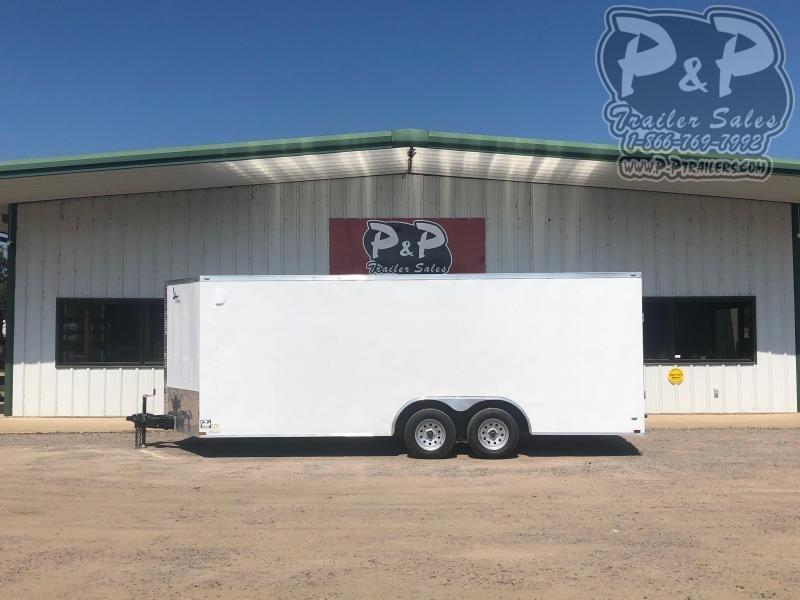 2021 Lark 8.5x20TA Enclosed Cargo Trailer