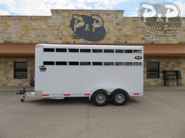 2021 P and P Stable Lite 3 Horse Slant Load Trailer