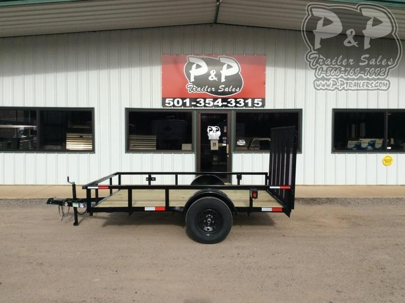 2021 Wicked Trailer Manufacturing UT7610SA 10 ' Utility Trailer