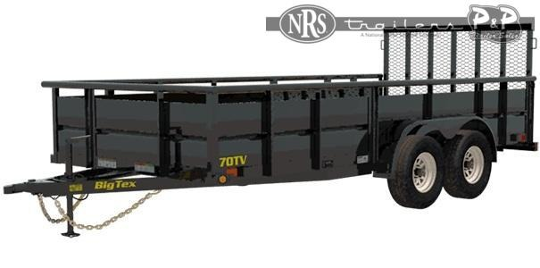 2021 Big Tex Trailers 70TV-12 12 ' Utility Trailer