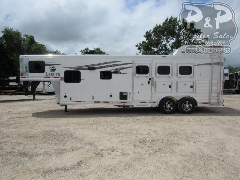 2021 Lakota Charger C8311SRNS 3 Horse Slant Load Trailer 11 FT LQ