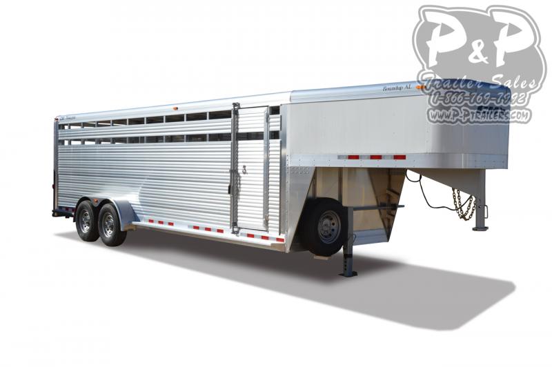 2021 CM Roundup AL Livestock Trailer