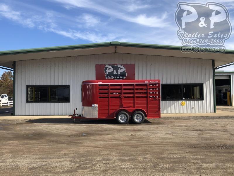 2020 CM CMS6630-1400235 14' ft Livestock Trailer
