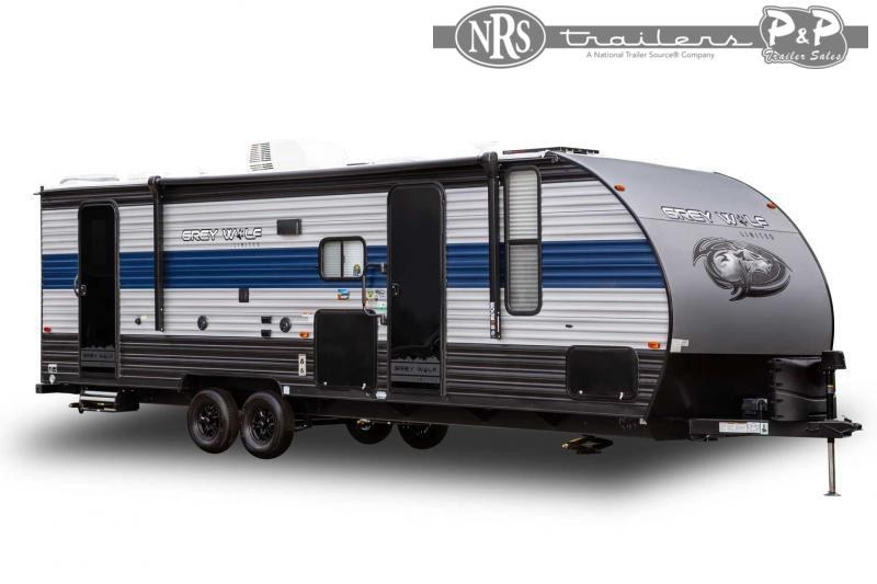 2022 Forest River Grey Wolf 27RR 34 ' Toy Hauler RV
