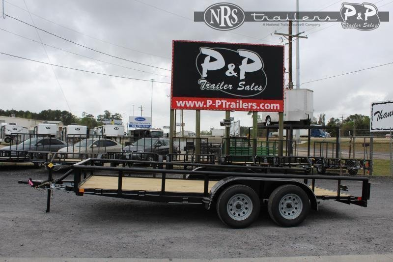"""2021 P and P PPTA16X83GDSRPT 83"""" x 16 ' Utility Trailer"""