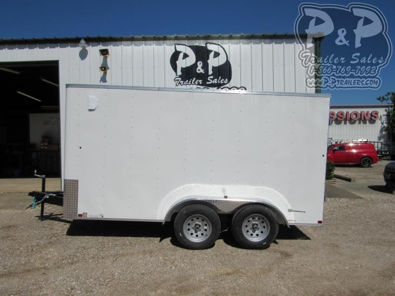 2019 Carry-On 7X14CGBN7K 12 ft Enclosed Cargo Trailer