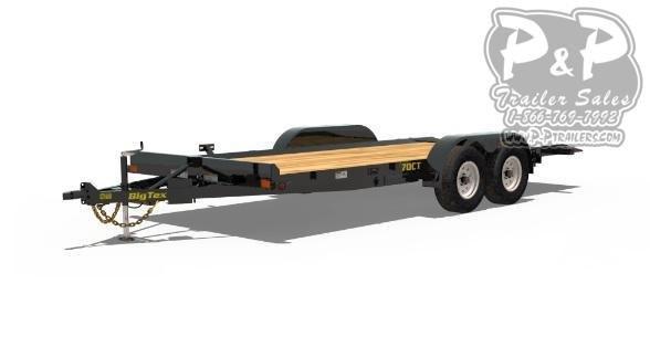 2021 Big Tex Trailers 70CT Tilt Car / Racing Trailer