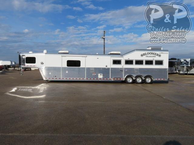 2021 Bloomer 82017STK 38 ' Livestock Trailer LQ