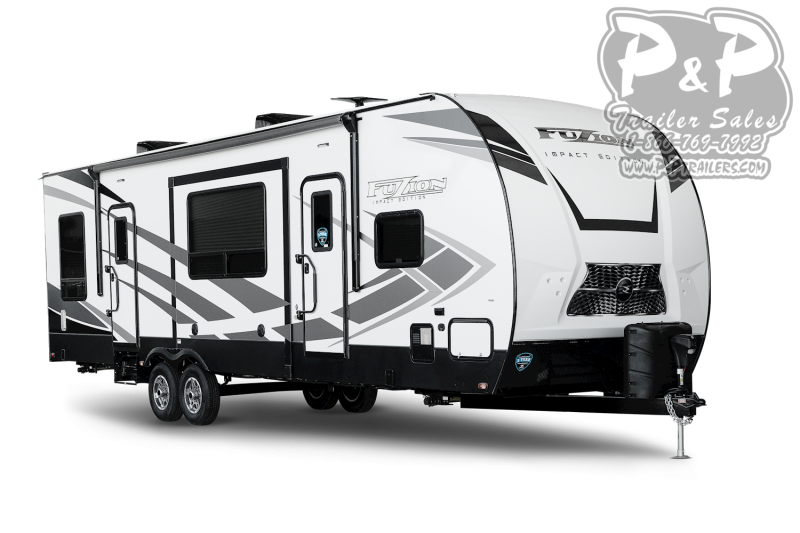 "2021 Keystone RV Impact 28V 392 "" Toy Hauler RV"