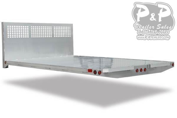 CM AL PL Aluminum Platform Body Truck Bed