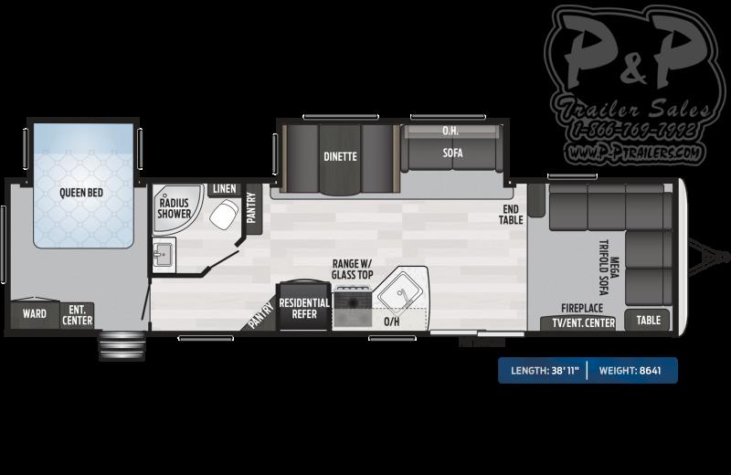 2020 Keystone Springdale 38FL 38.92 ft Travel Trailer RV