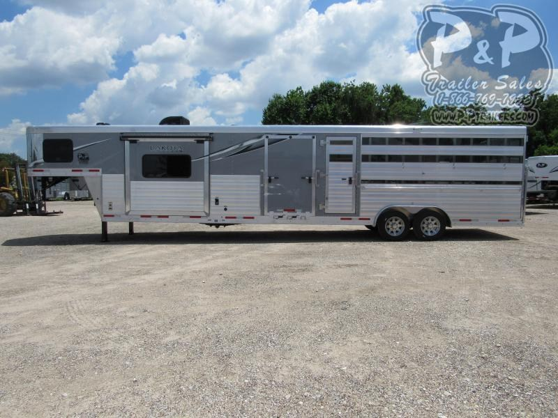 2021 Lakota Charger LE81611 33.67 ft Livestock Trailer LQ