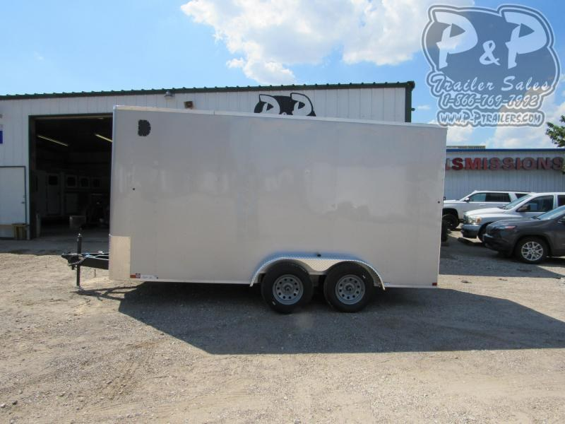 2021 Carry-On 7 X 16 CGRBN Extra Tall Enclosed Cargo Trailer