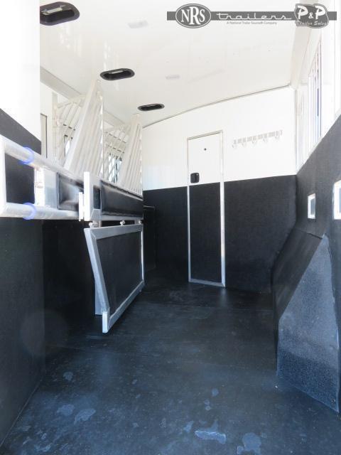 2021 Bloomer 8313PL 3 Horse Slant Load Trailer 12.67 FT LQ
