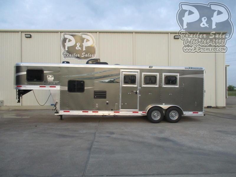 2021 Lakota Charger C39 3 Horse Slant Load Trailer 9 FT LQ