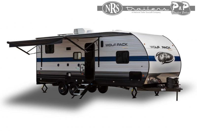 2022 Forest River Wolf Pack 23GOLD15 33 ' Toy Hauler RV