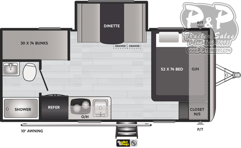 2021 Keystone RV Springdale Mini 1760BH Travel Trailer RV