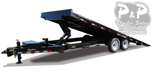 2021 Big Tex Trailers 14OT Tilt Equipment Trailer