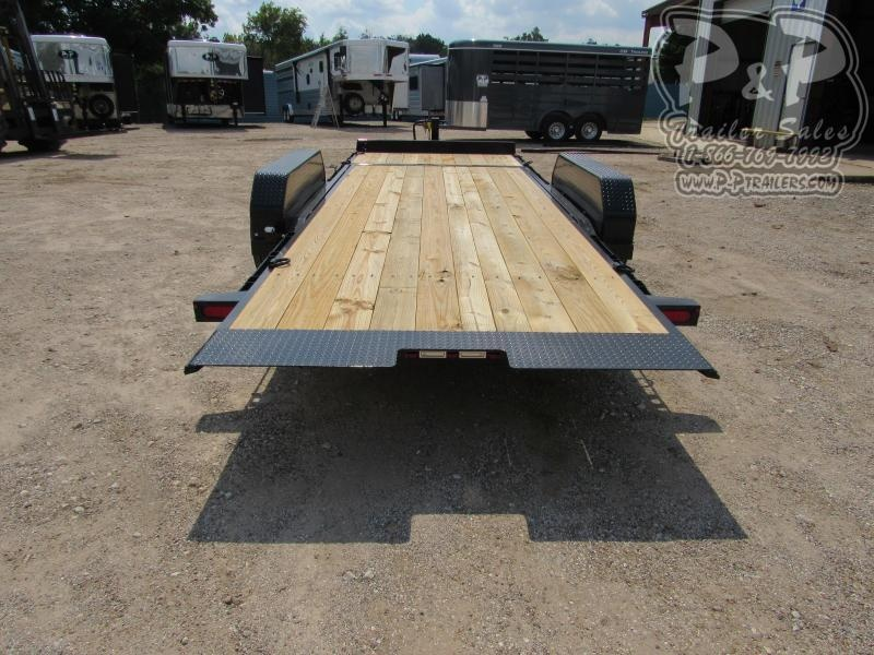 2021 Big Tex Trailers 14TL 20BK 20 Flatbed Trailer