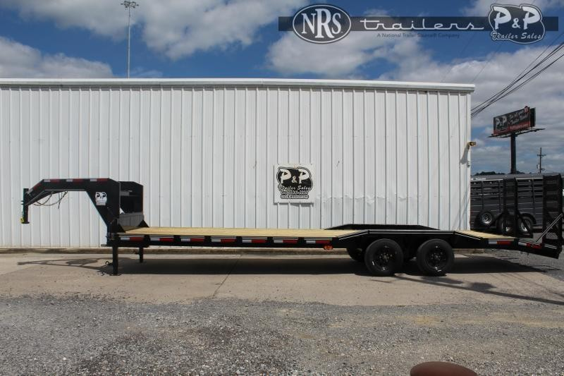 2021 P and P PPGNEQ30X102HDFUR10K 30 ' Flatbed Trailer