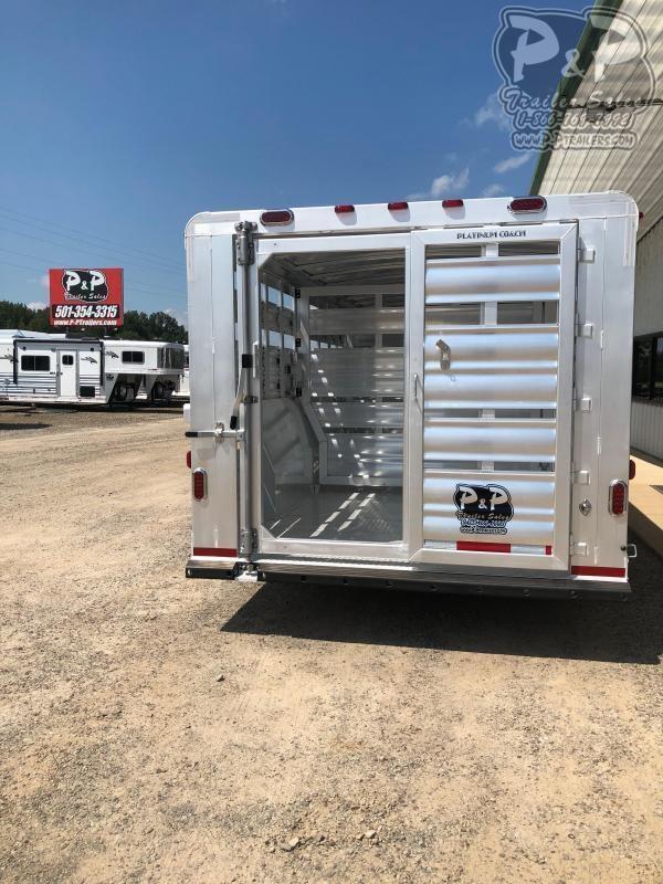 2021 Platinum Coach 832STK Livestock Trailer