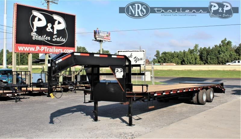 2021 P and P PPDT27+5X102HDMRLP 32 ' Flatbed Trailer