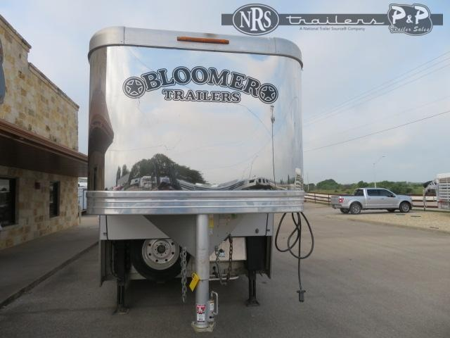 2017 Bloomer 8415PCOL 4 Horse Slant Load Trailer 15 FT LQ With Slides w/ Ramps