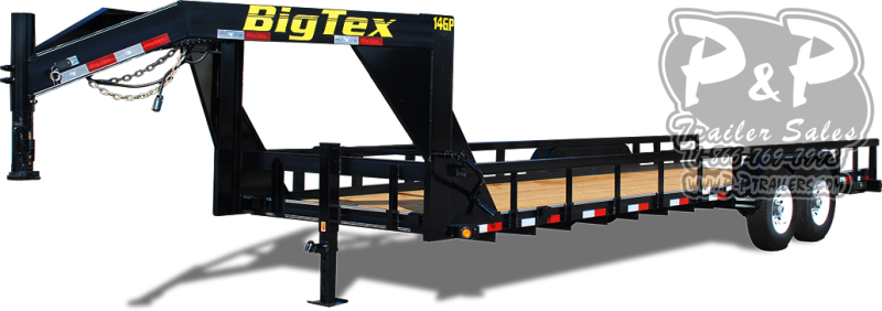2021 Big Tex Trailers 14GP-24 Equipment Trailer