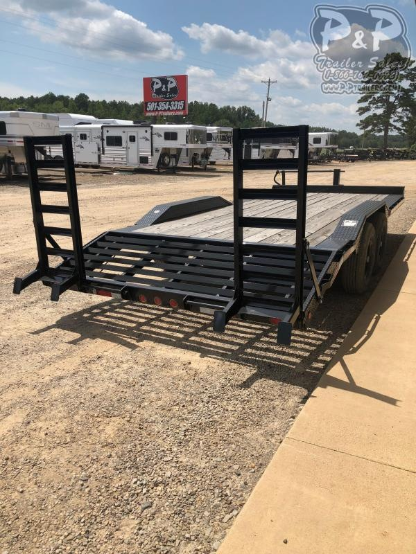 2021 Big Tex Trailers 14DF 20' Equipment Trailer