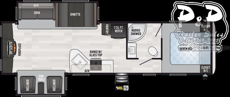 2021 Keystone RV Springdale 311RE 35 ' Travel Trailer RV
