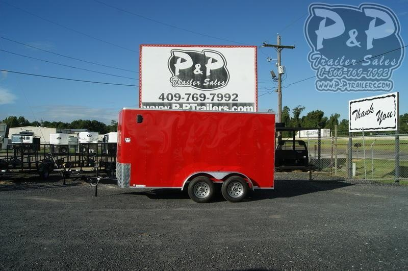 """2021 Carry-On 7X14 CGRBN 168 """" Enclosed Cargo Trailer"""